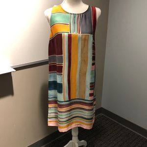 Loft color block dress! New With Tags!